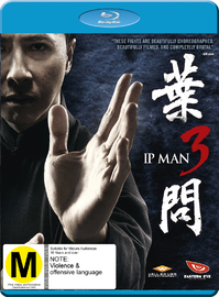 Ip Man 3 on Blu-ray