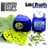 Green Stuff World - Miniature Leaf Punch (Dark Purple)