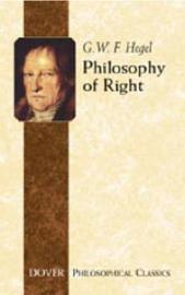 Philosophy of Right by G W F Hegel
