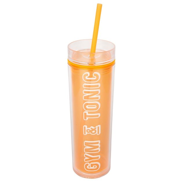 Sunnylife Malibu Tumbler - Neon Orange