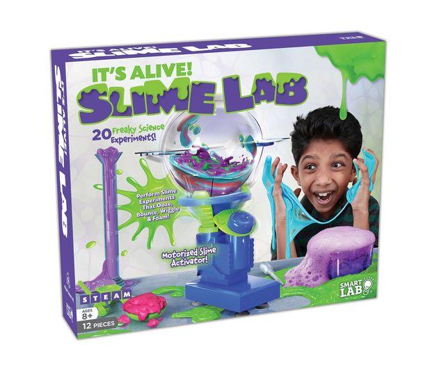 SmartLab: It's Alive! Slimelab
