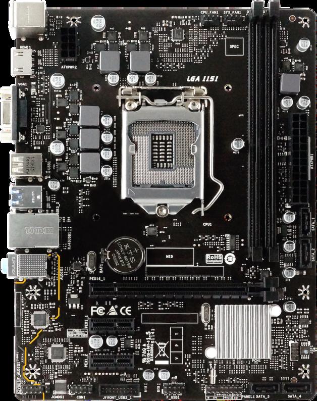 BIOSTAR H310MHP mATX Motherboard