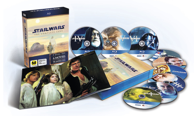 Star Wars: The Complete Saga (Limited Edition) on Blu-ray image