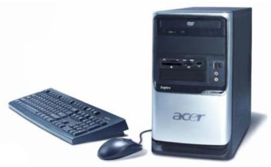 "Acer Aspire X2 3800+ 1GB 250GB DVDRW NV7500 Vista HP + AL1916S 19"" LCD"