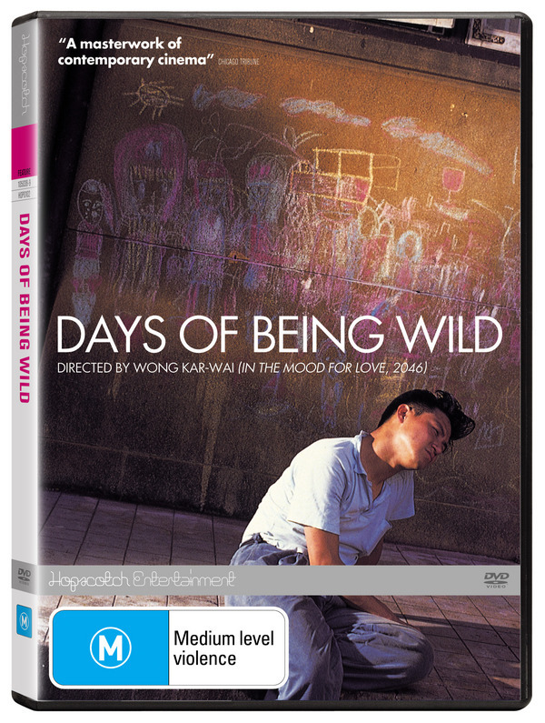 Days Of Being Wild on DVD