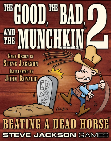 The Good, the Bad, and the Munchkin 2: Beating a Dead Horse image
