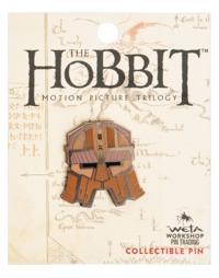 The Hobbit Dwarven Helmet Collectible Pin