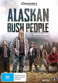 Alaskan Bush People: Season 3 - Collection 1 on DVD