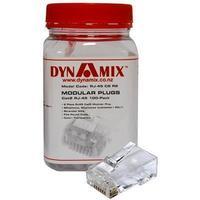 DYNAMIX Cat6 RJ-45 Plug 100pc Jar