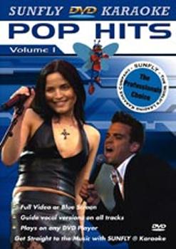 Karaoke - Pop Hits Volume 1 on DVD image