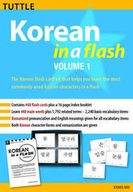 Korean in a Flash: v. 1 by Soohee Kim image