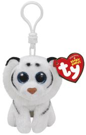 Ty Beanie Babies: Tundra Tiger - Clip On Plush