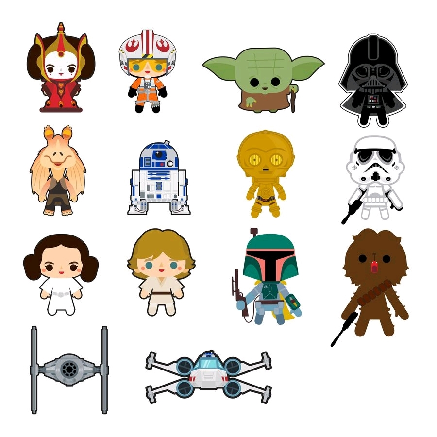 Loungefly: Star Wars - Chibi Patches (Assorted) image