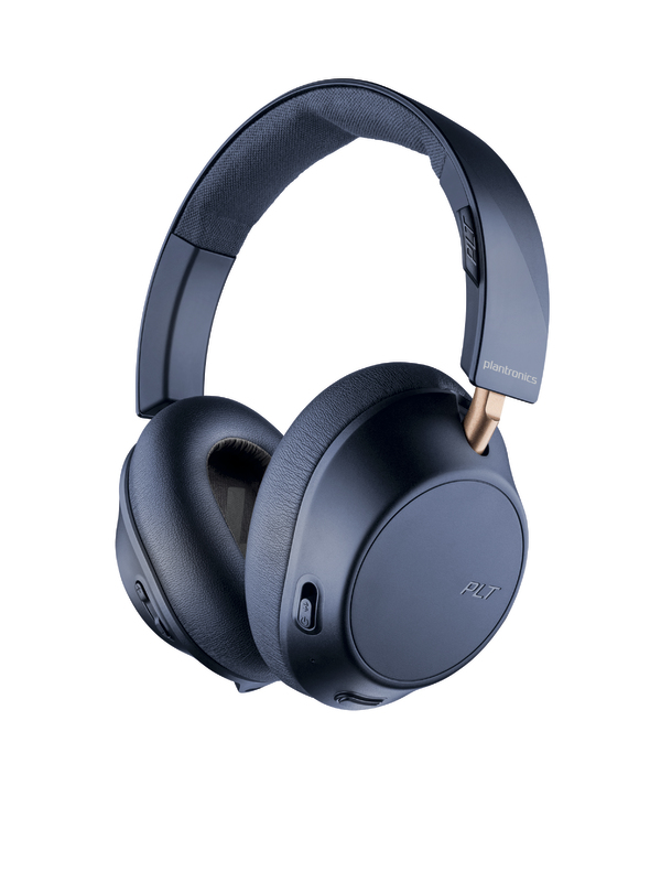 Plantronics: BackBeat Go 810 Wireless Noise Canceling Headphones - Navy