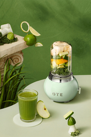 OTE Retro Style Electric Smoothie Blender - Mint Green