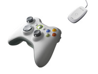 Xbox 360 Wireless Controller for WinXP/Vista USB image