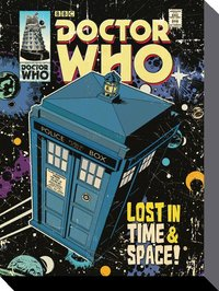 Doctor Who Comic Canvas - Lost in Time and Space
