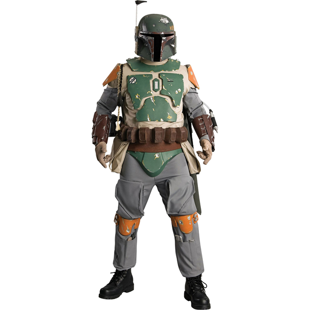 Star Wars: Boba Fett Supreme Costume (STD)