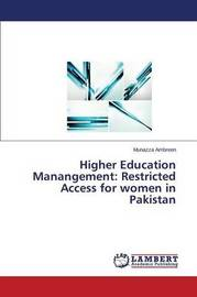 Higher Education Manangement by Ambreen Munazza
