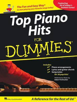 Top Piano Hits for Dummies by Adam Perlmutter image