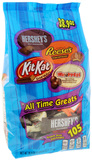 Hershey's SUB (105 Pc) Snack Size All Time Greats 1.1kg