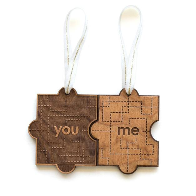 Cardtorial Christmas Ornament - You & Me