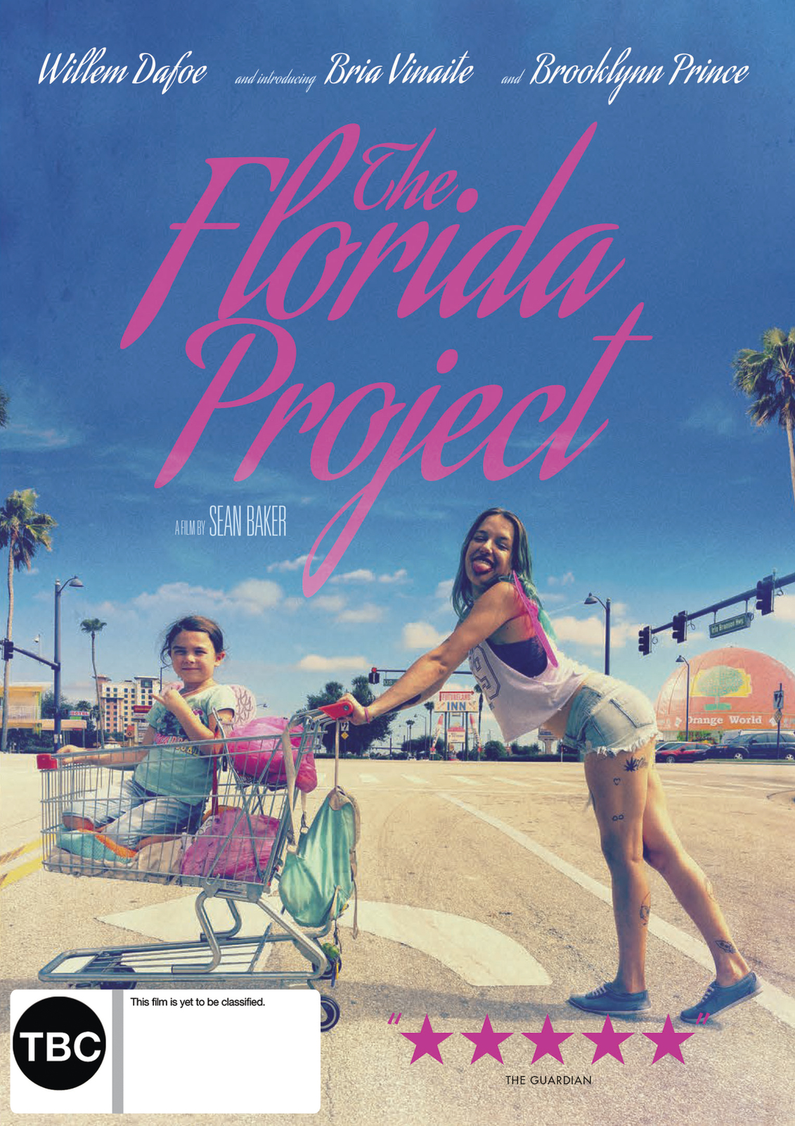The Florida Project on DVD image