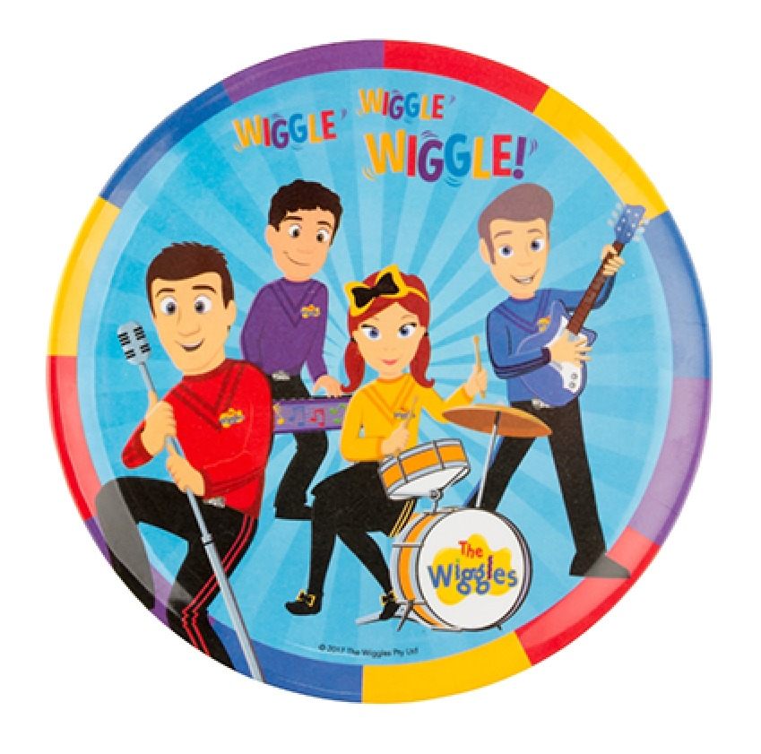 The Wiggles - Children's Plate (20cm) image