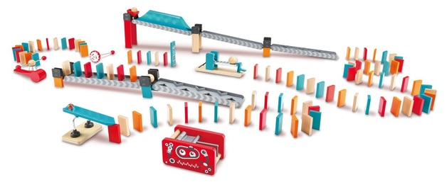 Hape: Robot Factory - Domino Set