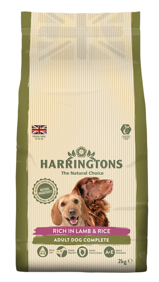 Harringtons: Dog Food Lamb & Rice (2kg) image