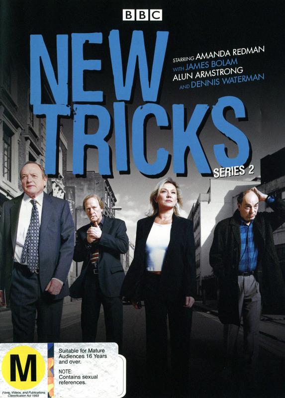 New Tricks - Series 2 (3 Disc Set) on DVD