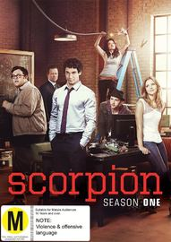 Scorpion: Season 1 on DVD