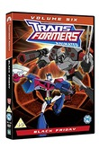 Transformers Animated: Volume 6 - Black Friday on DVD