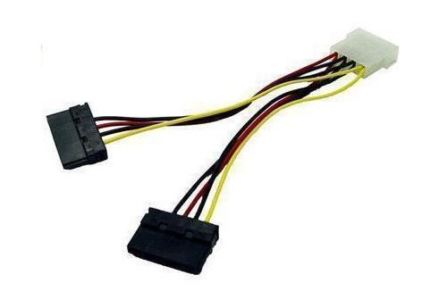 Digitus SATA (Dual) to Molex Power Cable