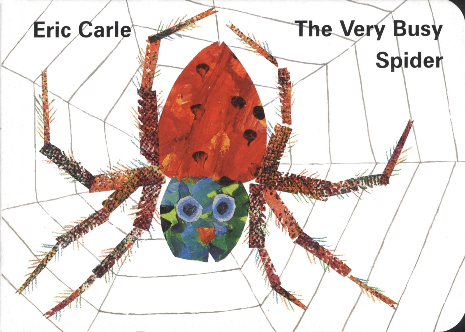 The Very Busy Spider by Eric Carle image