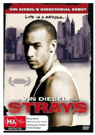 Strays on DVD image