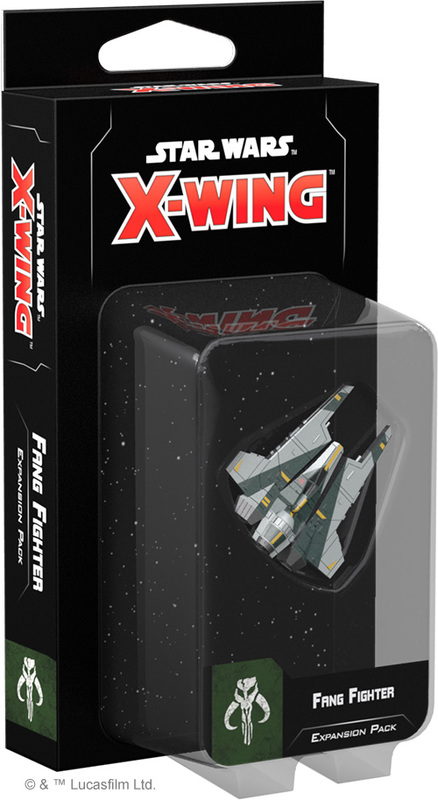 Star Wars X-Wing Second Edition: Fang Fighter Expansion Pack