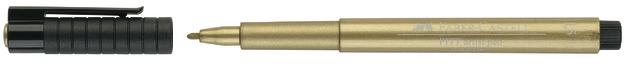 Faber-Castell: Pitt Artist Pens - Metallic Gold