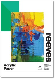 Reeves: Acrylic Painting Pad - A4