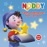 Noddy Catch a Falling Star: Night Light Book by Enid Blyton image