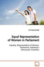 Equal Representation of Women in Parliament by Erni Haryanti Kahfi image