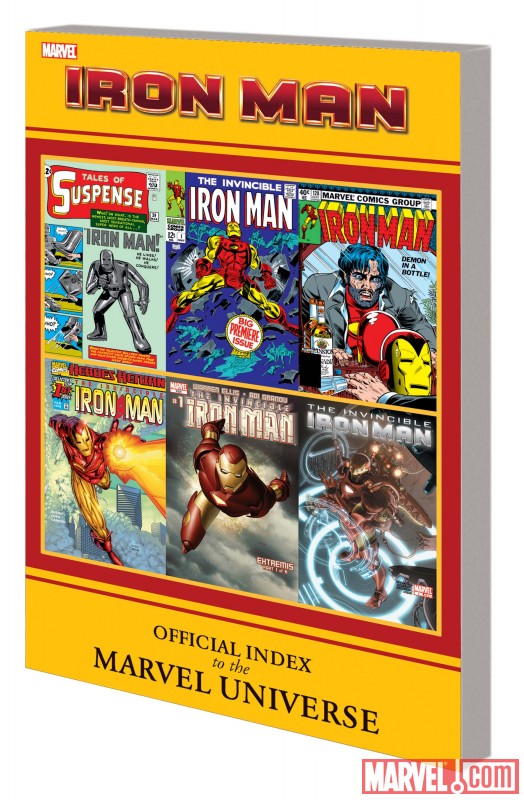 Iron Man: Official Index to the Marvel Universe image