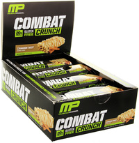 MusclePharm Combat Crunch Bars - Cinnamon Twist (12 x 63g)