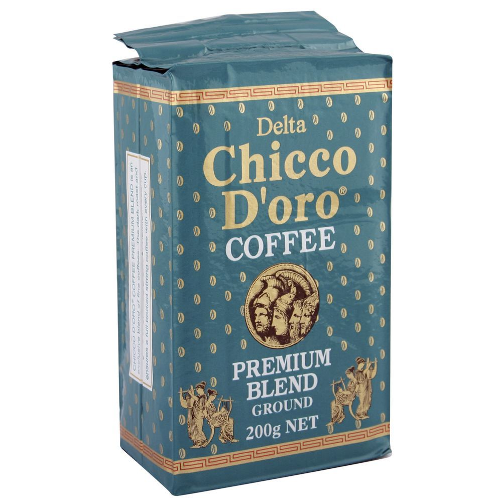 Chicco D'oro Premium Blend Ground Coffee (200g) image