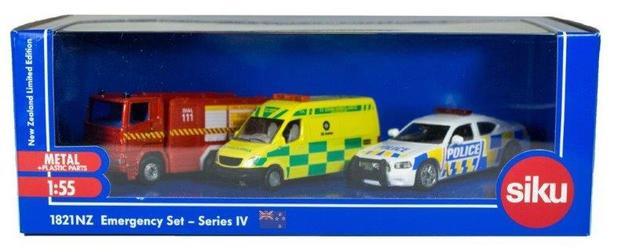 SIKU 3-Piece NZ Emergency Set - Series IV
