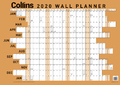 Collins: 2020 Laminated A2 Wall Planner