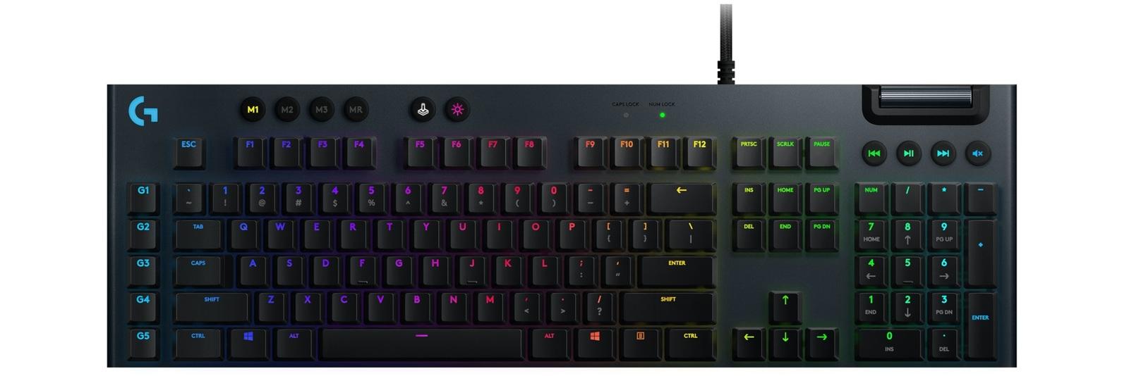 Logitech G815 RGB Mechanical Gaming Keyboard (GL Linear) for PC image