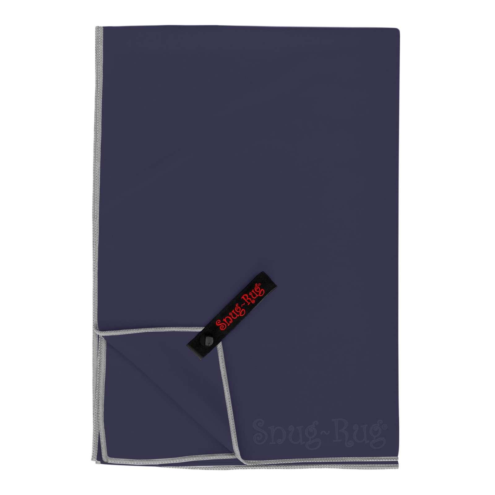 Snug Rug Microfibre Quick Dry Beach Towel - Eclipse Blue (Large) image