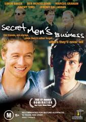 Secret Men's Business on DVD