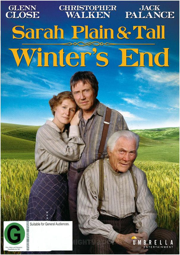 Sarah: Plain & Tall - Winter's End on DVD image
